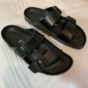 Birkenstock Arizona Eva Black Sandals Sz 39